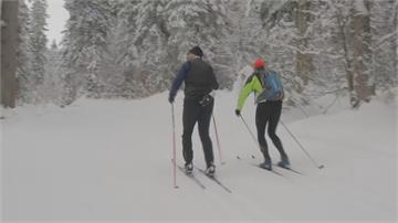歐洲雪場纜車關閉 越野滑雪人數大幅上揚