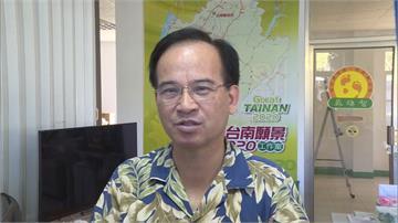 前台南縣長蘇煥智 宣布無黨籍參選台南市長