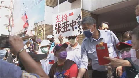 張亞中、朱立倫政見會台中場砲打兩岸議題 罷免3Q哥成政見會焦點