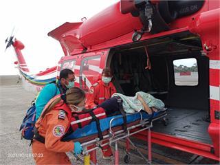 快新聞/快生了!空勤總隊派直升機綠島載孕婦 順利產下一名男嬰