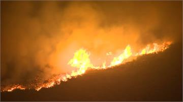 30年來最熱六月天 曼徹斯特郊外大火