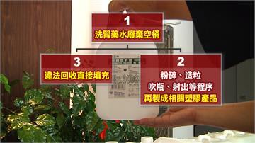 洗腎藥水桶裝清潔劑販售 黑心業者3年牟利150萬