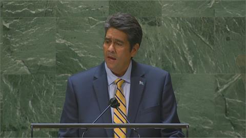 帛琉總統聯大發言力挺我國 蔡總統:用行動證明我們有能力