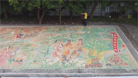 費時1年打造「宜蘭版清明上河圖」 展現舊城文化