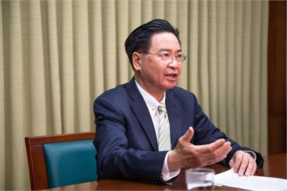 快新聞/英電視台Sky News專訪暢談兩岸關係 吳釗燮盼國際續挺台灣