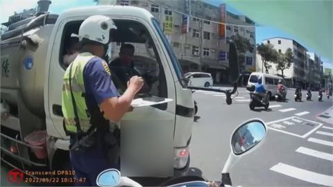 車內雙人共乘「無罩駕駛」!高雄警首開告發單