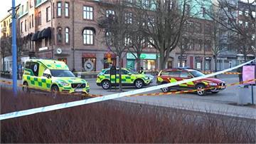 瑞典疑恐攻8人被砍傷  20多歲嫌犯被捕