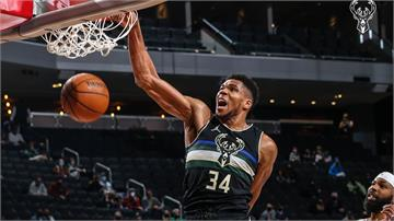 NBA/字母哥攻最高36分 率公鹿第4節逆轉勝快艇