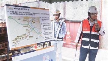 侯友宜視察安坑輕軌 預計2022年通車新工法降噪更安靜 通勤北市省15分
