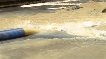 板橋自來水管破裂 2萬1千戶大停水