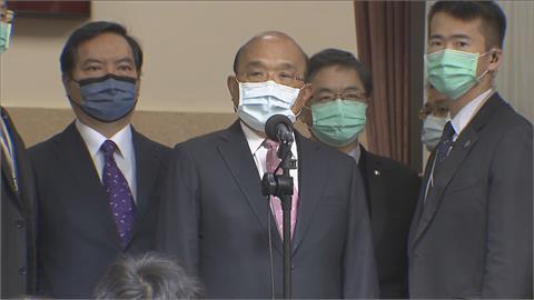 快新聞/侯友宜問核廢料要放新北多久? 蘇貞昌:一起共同面對「台灣才能越來越好」