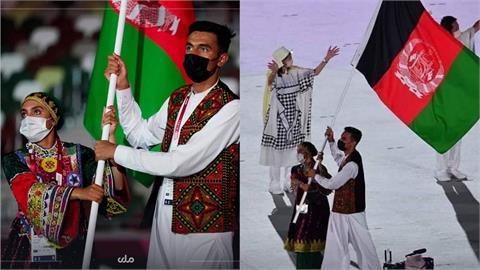 阿富汗東奧唯一女選手任「2屆掌旗官」!痛心訴:恐最後1次舉旗