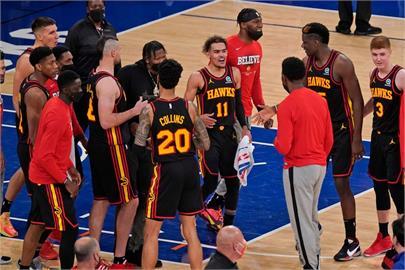 NBA/楊恩轟32分準絕殺狙擊尼克 老鷹季後賽開紅盤