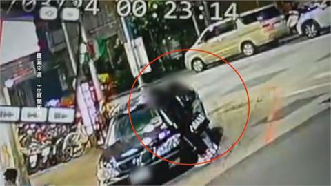 車停超商前被踹凹 報警調畫面先被罰違停