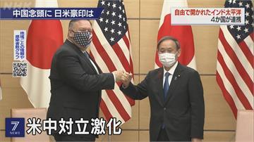 四國外長會議 討論「自由印太」圍堵中國勢力