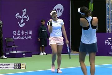 網球美女布夏出局 張凱貞、莊佳容闖四強