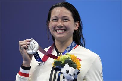 東奧/混血「女飛魚」何詩蓓游破亞洲紀錄!奪香港史上首面游泳銀牌