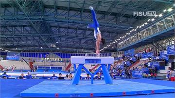 世大運體操男團銀牌 女子空氣步槍1銀1銅