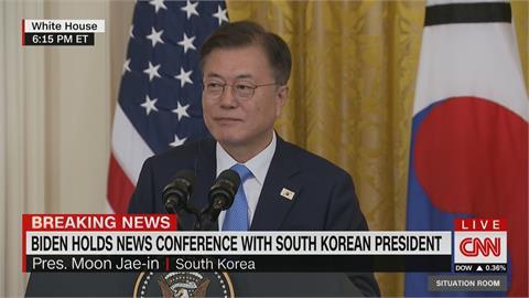強調台海和平重要性 文在寅:美韓將密切合作