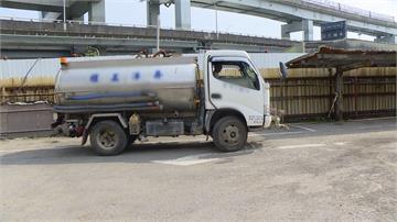桃園以南臨缺水危機!北區水車支援 價格平均漲三成