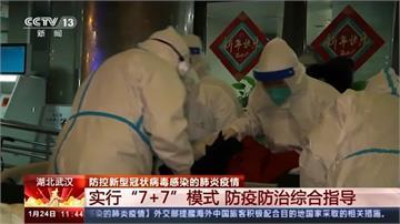 武漢肺炎/中國境內近2000例確診 56人死