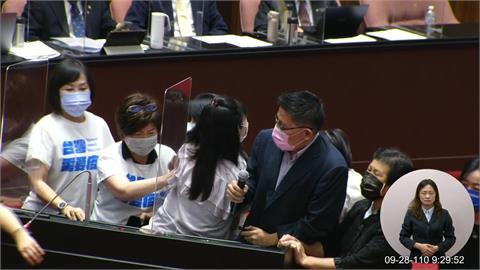 快新聞/邱顯智嗆費鴻泰「小紅就是你」 周玉蔻:今起國民黨代號叫小紅