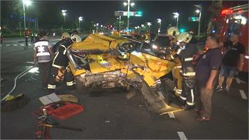 離譜肇逃一路狂飆!三次車禍釀2死2傷 遭撞計程車運將是「退休警」深夜載客慘遇劫