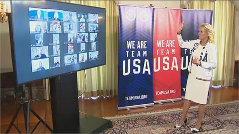 東奧/第一夫人來打氣 美國挑戰奧運獎牌榜三連霸