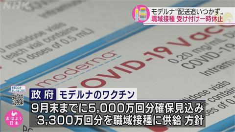 日本公布莫德納副作用 最常見接種部位疼痛