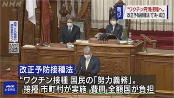 日本民眾接種疫苗政府買單 高齡、慢性病及醫護優先施打