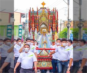 快新聞/屏東萬金聖母好潮! 潘孟安盼分享台灣珍貴文化資產