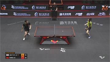 WTT世界桌球大聯盟全新國際賽 林昀儒、鄭怡靜兩台將受邀