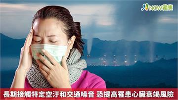 長期接觸特定空汙和交通噪音 恐提高罹患心臟衰竭風險