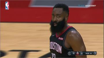 NBA/落後馬刺25分仍逆轉勝 火箭創下隊史新紀錄