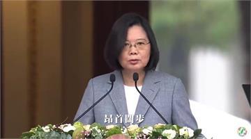 快新聞/民進黨發佈台灣對抗疫情紀錄片 蔡英文:是人民讓不容易的事情在台灣發生