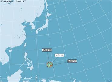 快新聞/熱低壓最快明成颱 氣象局曝未來路徑、襲台機率