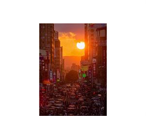 快新聞/台中明起連續三日 公益路上可看到懸日