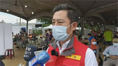 新竹市搶第一幫長者施打 林智堅提醒全國要有無障礙服務
