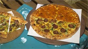 義式披薩飄「台味」 吃得到臭豆腐、鴨賞