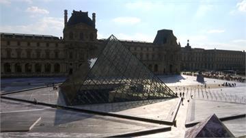 以幾何圖形、流瀉光影著稱 羅浮宮金字塔出自貝聿銘之手