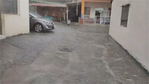 桃源.梅嶺傾盆大雨 居民開心:不用找水了