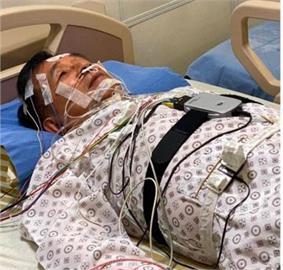 陳水扁近照曝光!躺病床「纏繞電線」 他:還能呼吸,就有希望