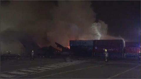 杜拜港口貨櫃大爆炸! 25公里外居民感受震動