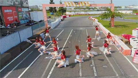 麗寶挑戰賽熱血應援   賽車女孩將成場邊亮點!