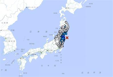 快新聞/日本福島近海規模5.2地震 宮城、福島最大震度4級