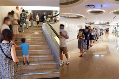 快新聞/晶華酒店外帶餐動線差「人潮超長」 民眾苦等2小時:都變下午茶了