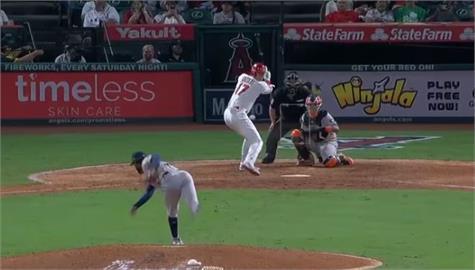 MLB/大谷翔平相隔9場再開轟 搶全壘打王剩1支差距