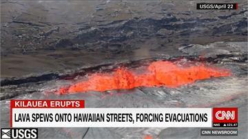 夏威夷火山噴發頻地震 撤離1700多人