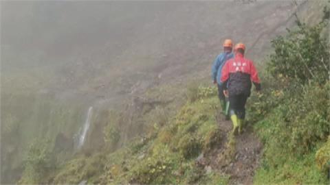遇颱風外圍環流大雨 登山隊受困投花交界