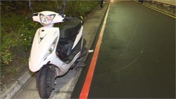 新北板橋死亡車禍 騎士自撞水泥牆喪命